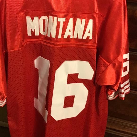 Mitchell & Ness Other - Joe Montana shortsleeved Jersey